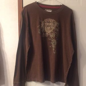 Long sleeve Graphic top XL